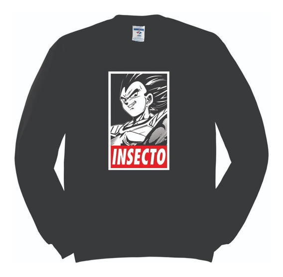 Sudadera Dragon Ball Vegeta Insecto