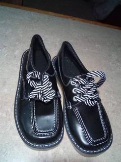Zapatos De Colegio Unisex Nuevo Talla 34