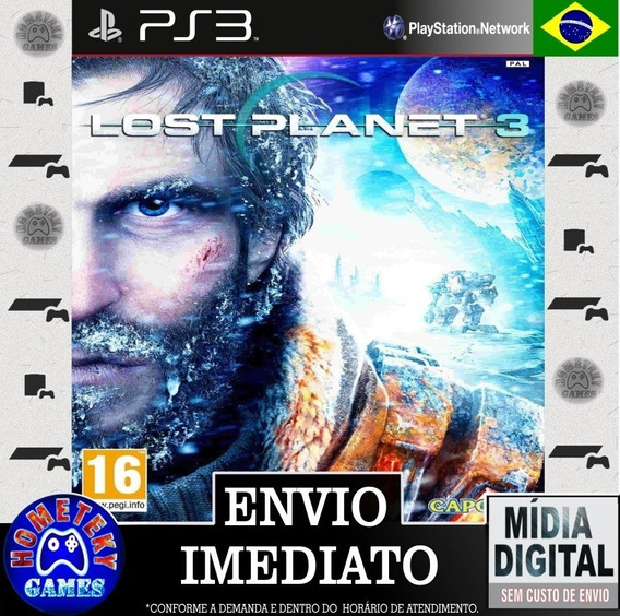 Lost Planet 3 - Psn Ps3 Leg. Português Pronta Entrega