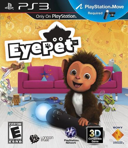 Eyepet Ps3 Juego Nuevo Original Físico Blu-ray Sellado