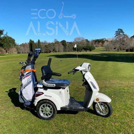 Triciclo Eléctrico Master / Para Golf Con Envío Gratis