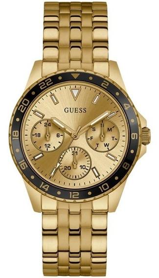 Relogio Feminino Guess W1187l1 Odessa Dourado Original