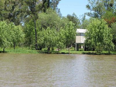 Hermoso Terreno Sobre El Río Paranacito Frente A La Ciudad