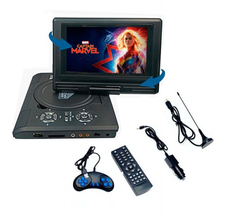 Dvd Portatil 7,8 Usb Game Mp3