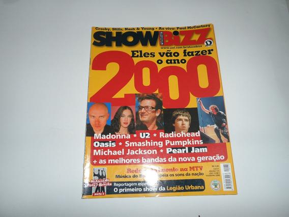 Revista Showbizz - 2000 - Madonna, U2, Legião, Radiohead
