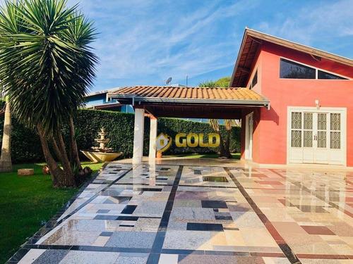 Imagem 1 de 10 de Chácara Com 3 Dormitórios À Venda, 1050 M² Por R$ 680.000,00 - Chacara Itália - Cosmópolis/sp - Ch0056