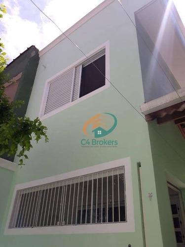 Sobrado Com 3 Dormitórios À Venda, 161 M² Por R$ 460.000,00 - Vila Carmela Ii - Guarulhos/sp - So0581