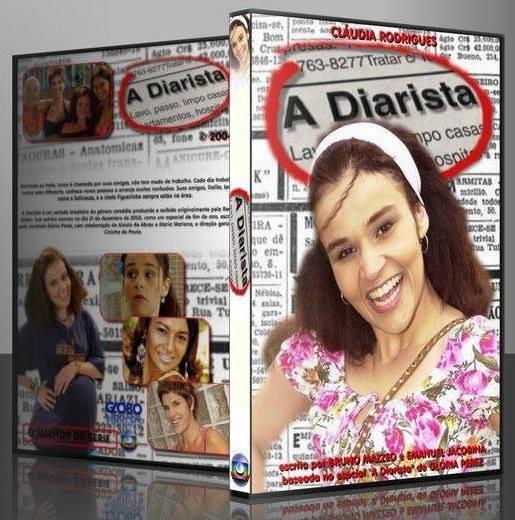 Seriado A Diarista Claudia Rodri Completo 41 Dvds Frete Grts