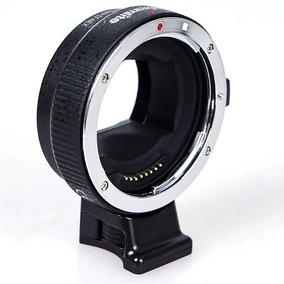 Adaptador Commlite Ef-nex Canon Sony Tipo Metabones +nf