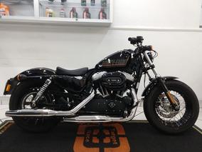 Harley Davidson Xl 1200 Forty Eight Preta 2014 - Target Race