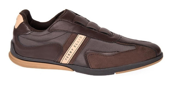 Choclo Casual Perry Ellis 1804 Id 825193 Cafe Para Hombre