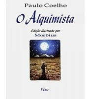 Livro O Alquimista Paulo Coelho Edição Ilustrada Por Moebius