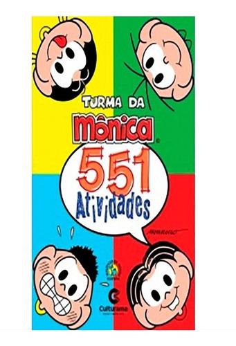 Imagem 1 de 2 de Livro De Atividades Da Turma Da Mônica.