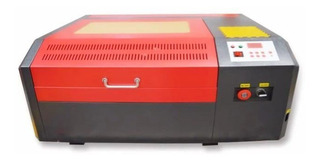 Máquina De Grabado Y Corte Láser Co2 50w 40x40 Cm Usb