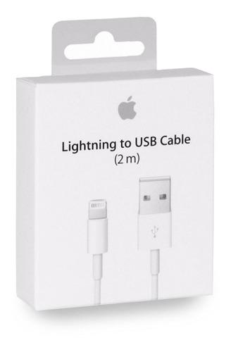 Cable Usb Original Apple iPhone 5/se/6/7 2 Metros