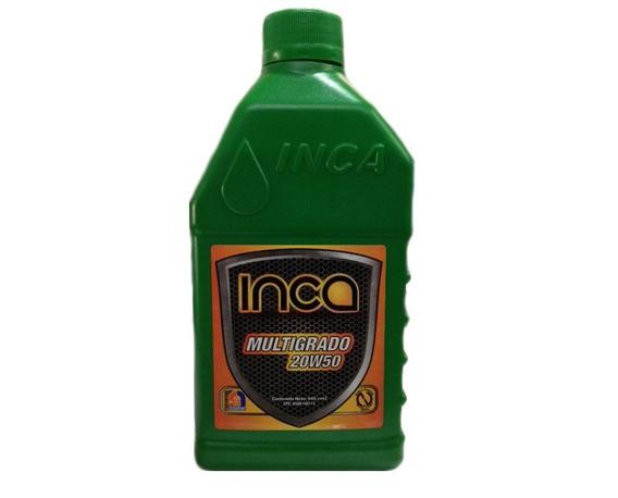 Aceite 20w50 Mineral Inca Motor Gasolina Multigrado Api Sl