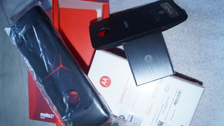 Motorola Moto Snap Kit Gamepad Stereo Speaker Projetor Top