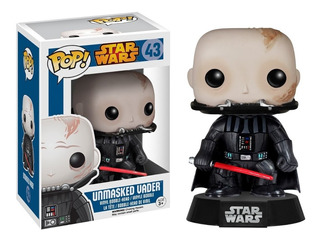 Funko Pop Star Wars: Unmasked Darth Vader Funko Disney