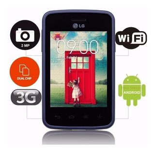 Smartphone Lg L30 Sporty Dual (lg-d125f) Tela Riscada