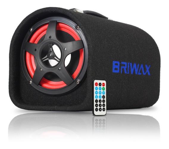 Caixa Som Bluetooth Amplificada 120w 8 Polegadas Automotivo