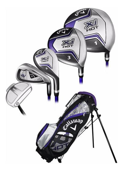 Set Callaway Junior 6-9 Años Dama Buke Golf
