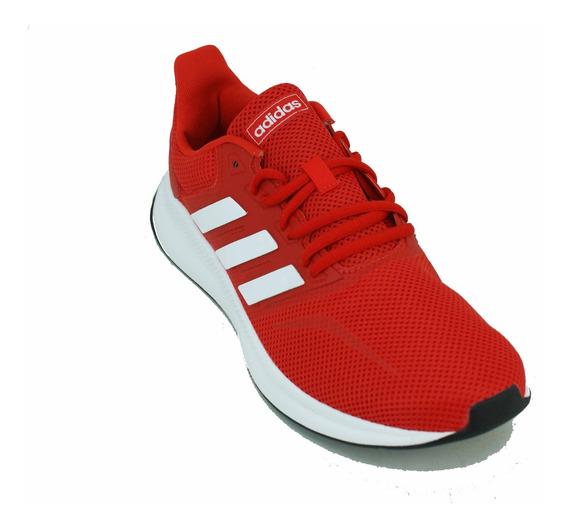 Zapatilla adidas Runfalcon Rojo/blanco Hombre Deporfan