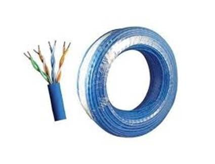 Cabo Rede Cat5e 2 Rolo 200 Metros Internet Net Azul - 9741