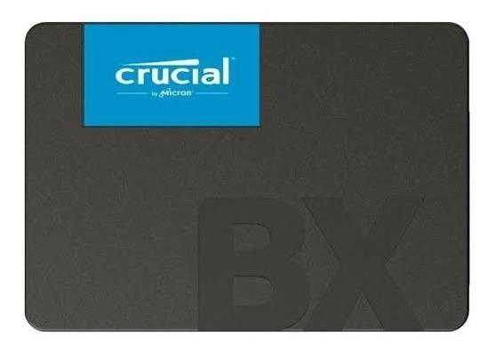 Ssd Desktop Notebook Crucial 240gb Sata Le 540mbs Grava 500m