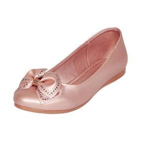Calzado Dama Mujer Zapato Flat Clasben Rosa Casual Comodo