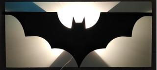 Lampara Batman- Murcielago Para Pared