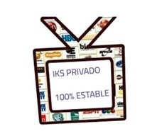 Iks Privado Gratis Estable Tv Satelital 61w Sd 70w Y 117w Hd