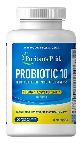 Probiotic 10 - 20 Billion 120 Capsu - Unidad a $583