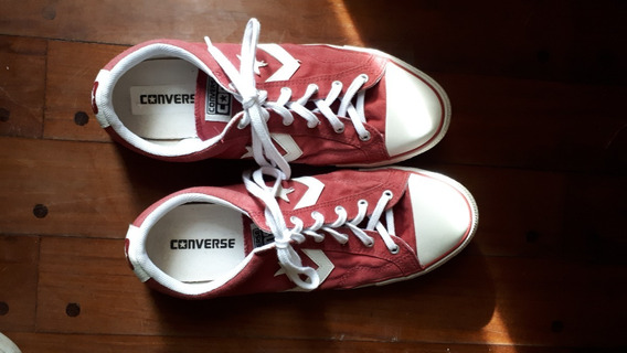 Zapatillas Converse All Star Rojas Talle 44