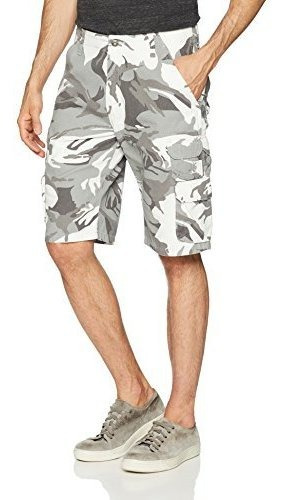 Pantalón Corto Tipo Cargo De Sarga Premium Para Hombre Wrang