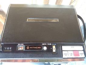 Hitachi Gravador De Rolo Antigo Tape Recorder Trq-520 Japan