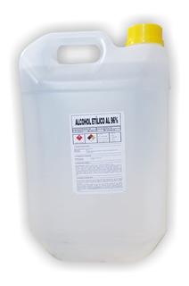 Alcohol Etilico De 5 Litros Bidon 96% Proyecto Axion
