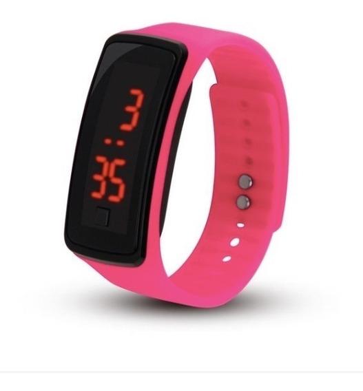 Relógio Digital Feminino E Masculino Resistente A Agua