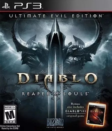Diablo 3 Reaper Souls Ps3 Original Envio Imediato Legendado