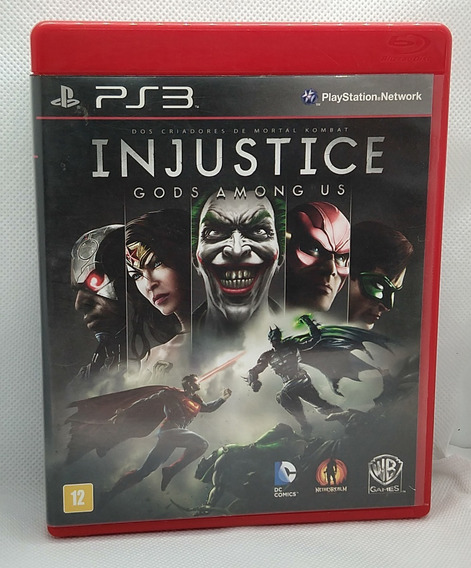 Injustice: Gods Among Us Ps 3 Midia Fisica