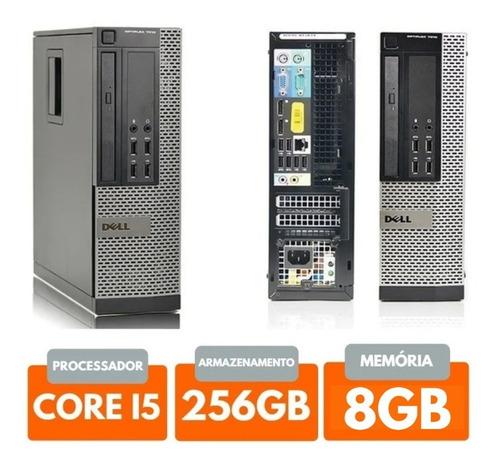 Cpu Dell Core I5+256gb Ssd+8gb Ram+ Wifi
