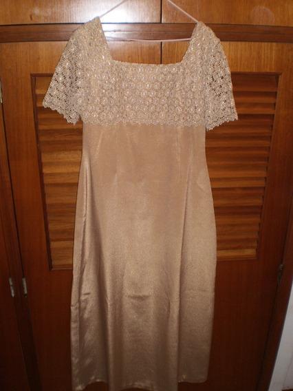 Vestido De Fiesta. Talla M. Largo: 148 Cms Cintura: 86 Cms