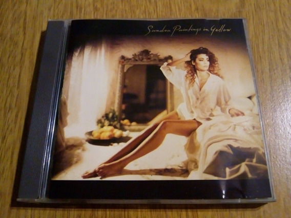 Sandra Painting In Yellows Cd Original Usado Excelente Estad