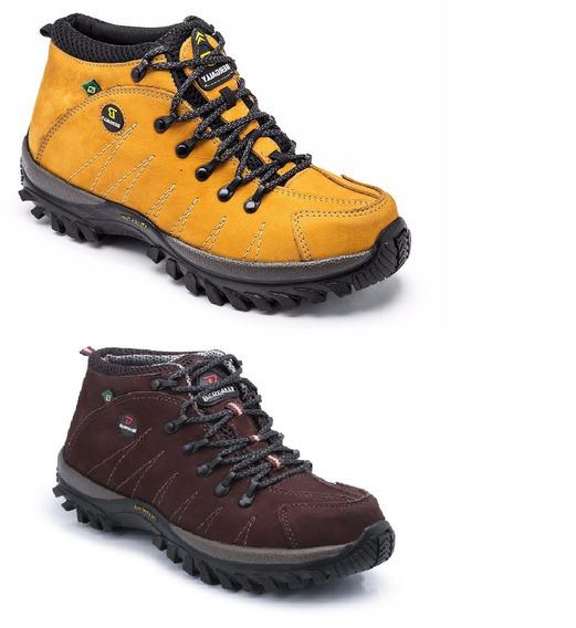 Bota Adventure Coturno Caminhada Kit Com 2 Pares!!!