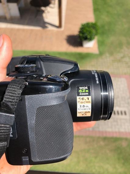 Câmera Digital Nikon Coolpix P530 - 42x De Zoom Ótico E 16mp