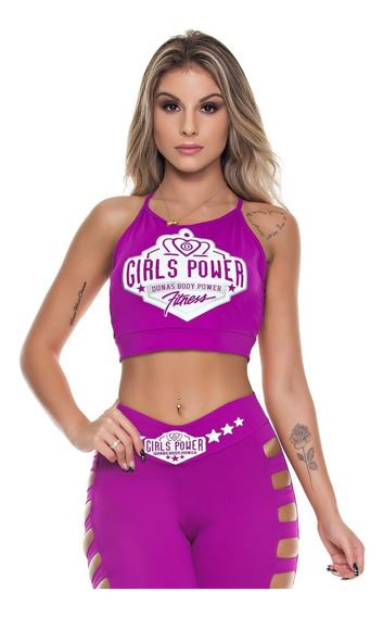 Blusa Power Roxo