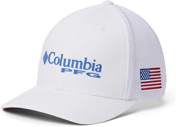 Columbia Mesh Ball White Gorra Pesca S/m