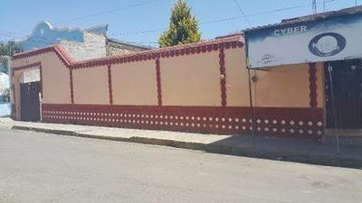 Terreno Tlaxcala, En Excelente Ubicación En Centro De Nanacamilpa
