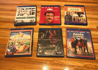 Peliculas Blu Ray Lote 6 Originales Oferta