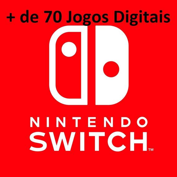 + 70 Jogos Digitais Para O Nintendo Switch