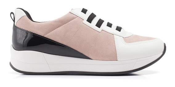 Tenis Piccadilly 973025 Preto/rose